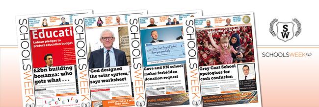 Schools-Week_papers